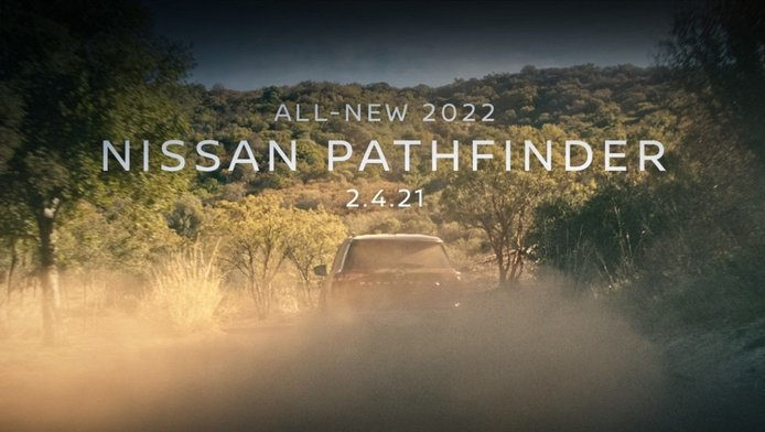 Último teaser del nuevo Nissan Pathfinder 2022, el SUV japonés a la vuelta de la esquina