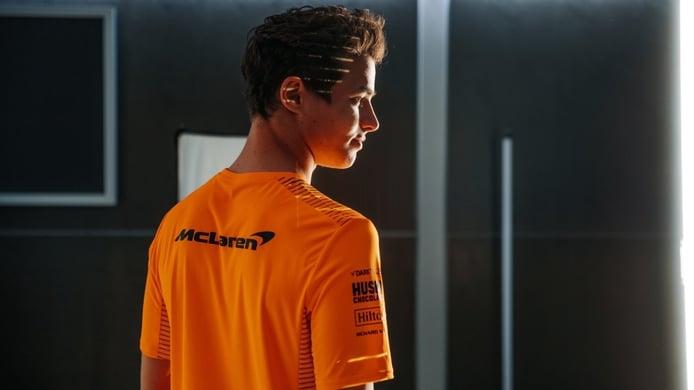Norris baja a McLaren de la nube: «El motor Mercedes y Ricciardo no bastan»
