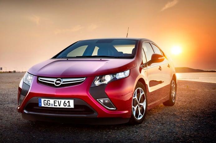 Opel Ampera, el coche eléctrico que llegó muy pronto