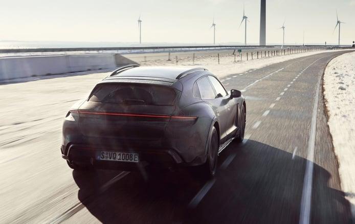 El Porsche Taycan Cross Turismo ya tiene fecha de presentación, en una semana
