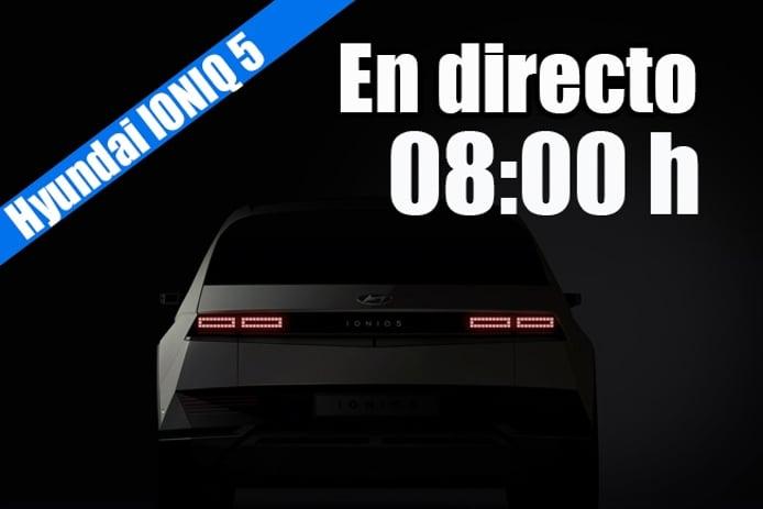 Presentación en directo del nuevo IONIQ 5, llega el eléctrico de Hyundai