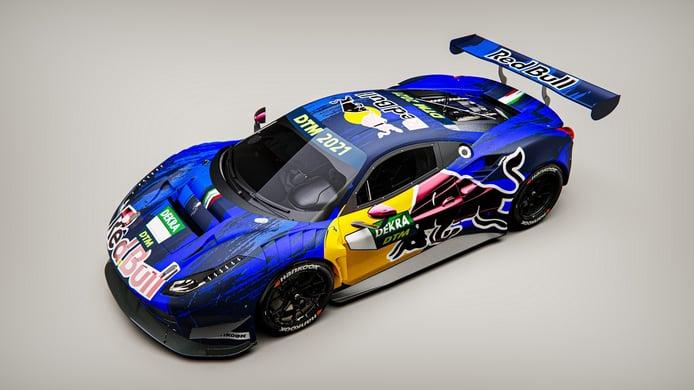 Red Bull competirá con dos Ferrari 488 GT3 de AF Corse en su vuelta al DTM
