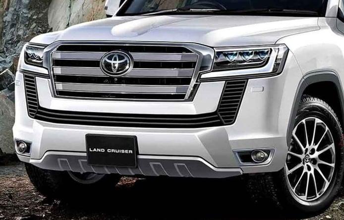 Al descubierto el interior del Toyota Land Cruiser 300 2021 en unas fotos espía