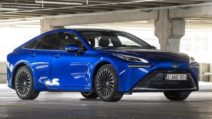 Toyota Mirai 2021, el primer coche de hidrógeno de car sharing en Suecia