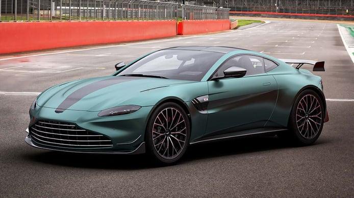 Aston Martin pone a la venta el Vantage Safety Car de la Fórmula 1