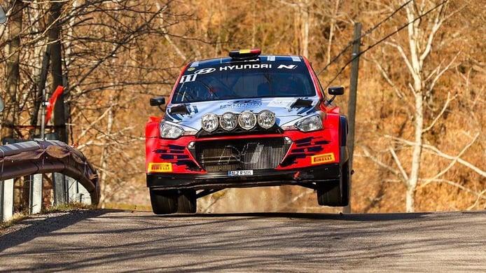 El belga Thierry Neuville conquista la victoria en el Rally Ciocco