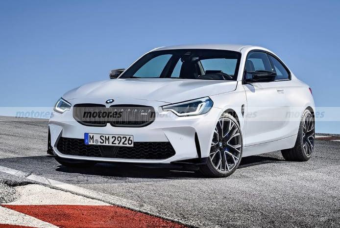 Destapamos al nuevo BMW M2 Coupé 2023 en esta recreación del compacto deportivo