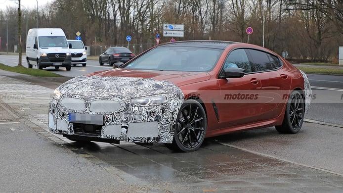 BMW Serie 8 Gran Coupé 2023, el lavado de cara está en marcha