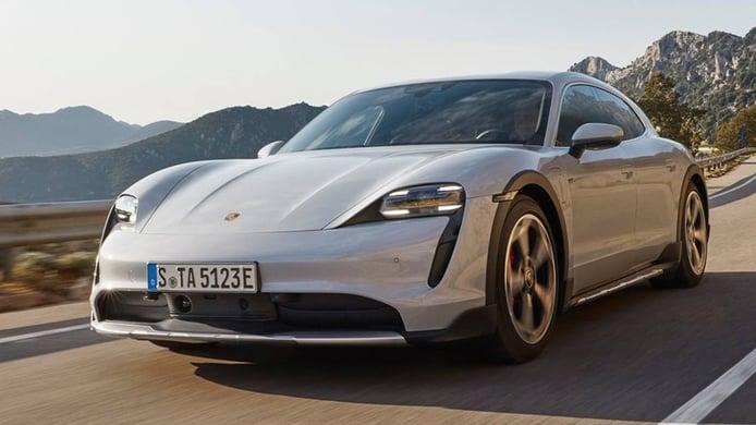 El equipamiento del Porsche Taycan Cross Turismo y los accesorios disponibles