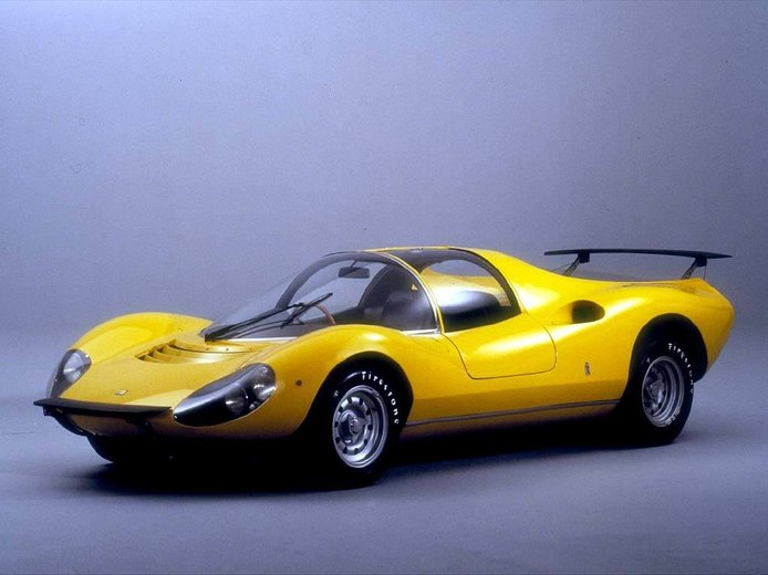 Los raros y veteranos Ferrari amarillos: el Ferrari Dino 206 Competizione Prototipo