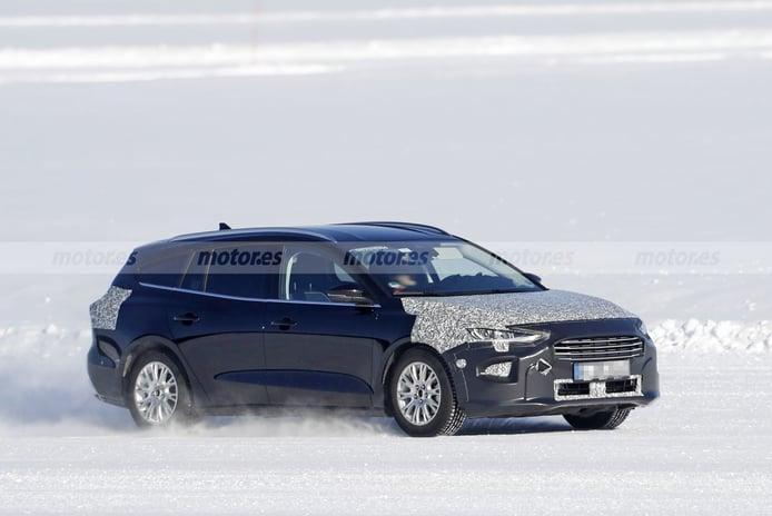 Cazado el facelift del Ford Focus Active SportBreak durante sus pruebas de invierno