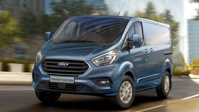 La nueva generación del Ford Transit Custom con variante eléctrica llegará en 2023