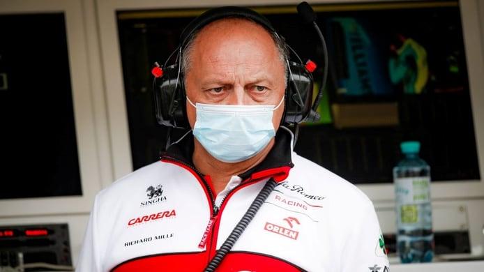 Frédéric Vasseur, director de Alfa Romeo, positivo por COVID-19