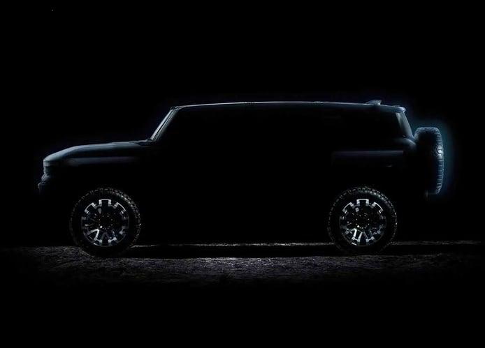 El nuevo GMC Hummer con carrocería SUV ya tiene fecha de presentación oficial