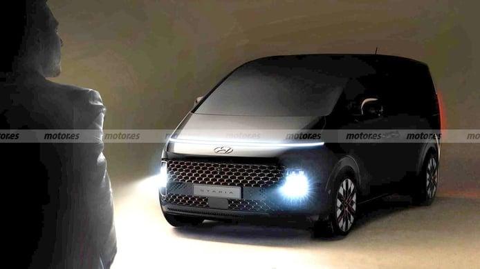 Hyundai Staria: la firma coreana anuncia un nuevo monovolumen de diseño futurista