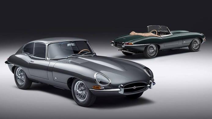 Jaguar E-Type 60 Collection, festejando el aniversario de un icono automovilístico