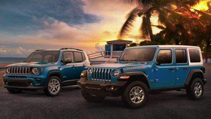 Jeep Islander Edition: llegan los Jeep Wrangler y Renegade más playeros