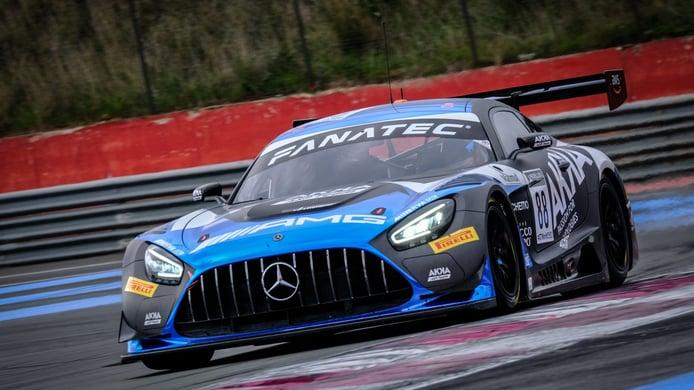 Jules Gounon firma el mejor tiempo del test del GT World Challenge Europe
