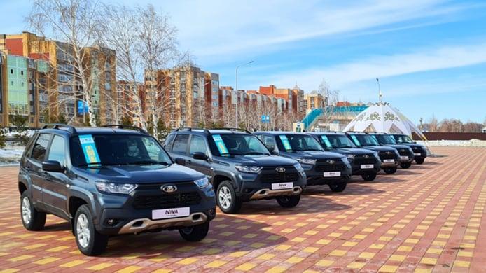 Lada inicia su nuevo proceso de expansión global fabricando coches en Kazajistán