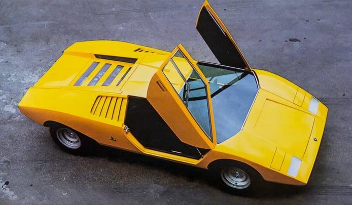 El Lamborghini Countach original cumple 50 años
