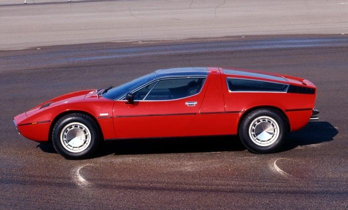 El afilado y tecnológico Maserati Bora cumple 50 años