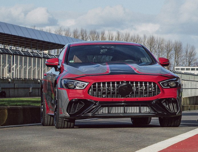 Primer teaser del nuevo Mercedes-AMG GT 73 e, la berlina híbrida enchufable se acerca