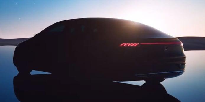 El nuevo Mercedes EQS 2022 estrena los libros de reservas en Bélgica