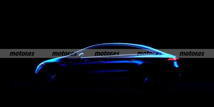 Primer teaser del nuevo Mercedes EQS 2022, arranca la cuenta atrás para su debut