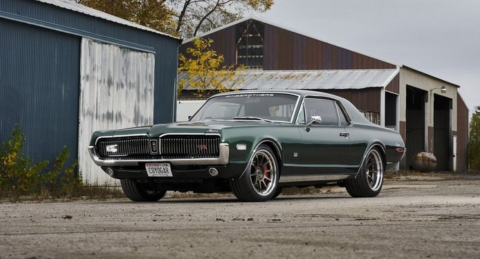 El brutal Mercury Cougar de los Ringbrothers llega con un V8 Coyote y estilo Bullitt
