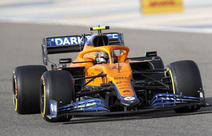 Norris, encantado con el McLaren MCL35M: «Es un coche muy bueno»