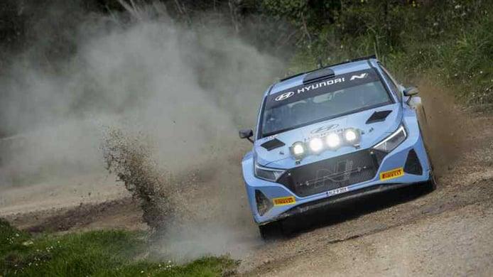 Nueva sesión de test para el Hyundai i20 N Rally2 en Cerdeña