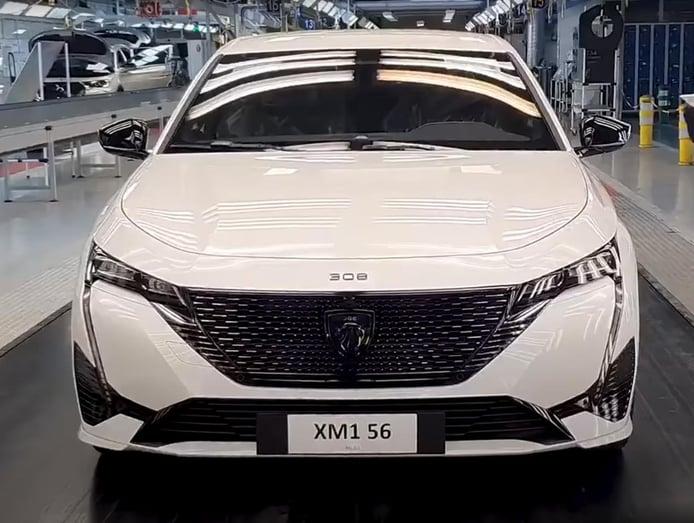 El nuevo Peugeot 308 2021 entra en producción en la factoría francesa de Mulhouse
