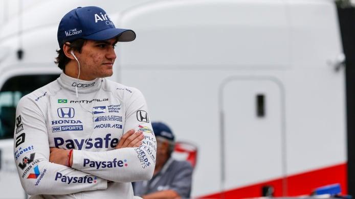 Pietro Fittipaldi correrá en óvalos en el coche de Romain Grosjean