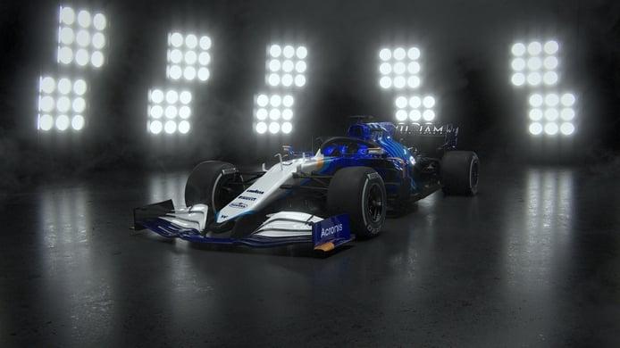 Así es el nuevo Williams FW43B de George Russell y Nicholas Latifi