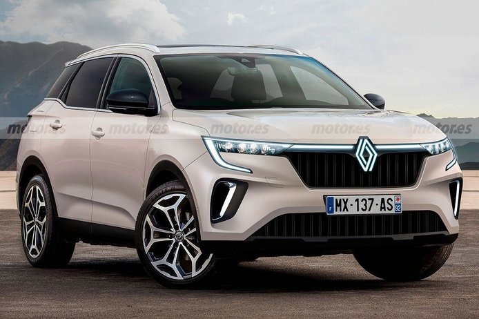El Renault Kadjar 2022 se presenta en esta recreación, así será el nuevo SUV galo
