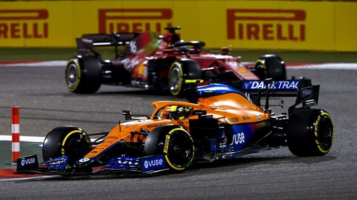 Sainz ve a Ferrari capaz de batir a McLaren: «Hay señales positivas, es alentador»