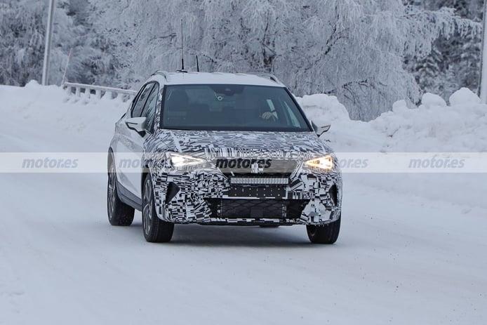 Los prototipos del SEAT Arona Facelift 2021 siguen en las pruebas de invierno