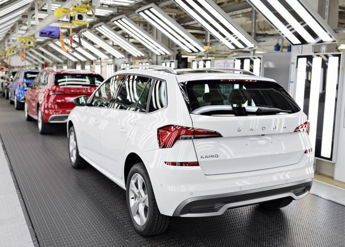 Nuevo récord de producción en Skoda, dos millones de SUV salen de sus fábricas