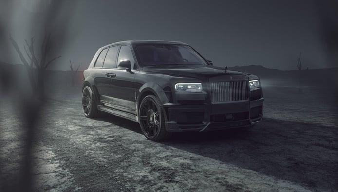 SPOFEC Rolls Royce Cullinan Black Badge, Novitec pone el toque deportivo al británico