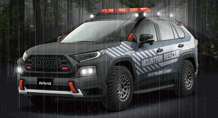 Toyota adelanta un prototipo del RAV4 con una configuración off-road más avanzada