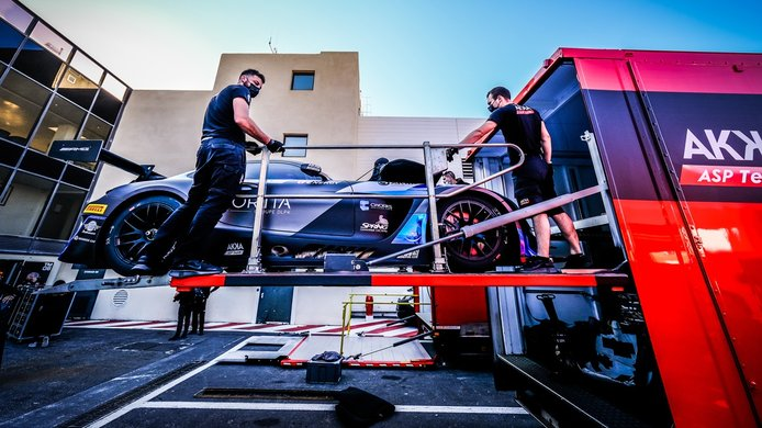 Varios equipos del GTWC Europe se pierden el test oficial de Paul Ricard