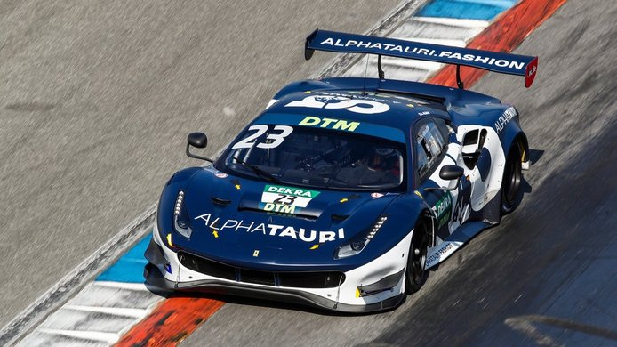 Alex Albon: «Las carreras GT3 del DTM me ofrecen un desafío diferente»