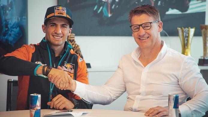 El argentino Kevin Benavides confirma los pronósticos y ficha por KTM
