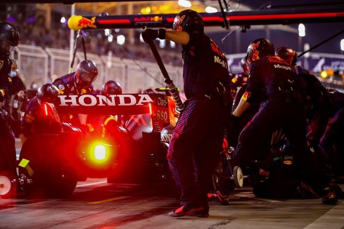 Así ha mejorado Honda la aerodinámica del Red Bull RB16B