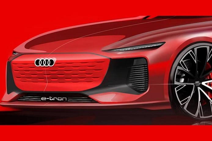 Audi anuncia la llegada de un atractivo sedán eléctrico menor que el e-tron GT