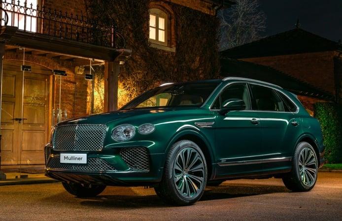 Bentley Bentayga Hybrid Mulliner, lujo soberbio para el Salón de Shanghái 2021