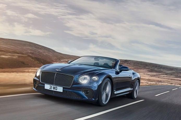El Bentley Continental GT Speed Convertible desvelado con 659 CV y 7 posibles capotas