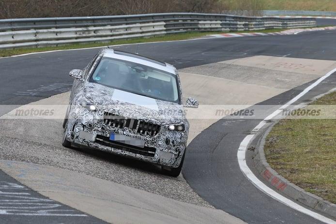 Los prototipos del nuevo BMW X1 2022 ya ruedan en el asfalto de Nürburgring