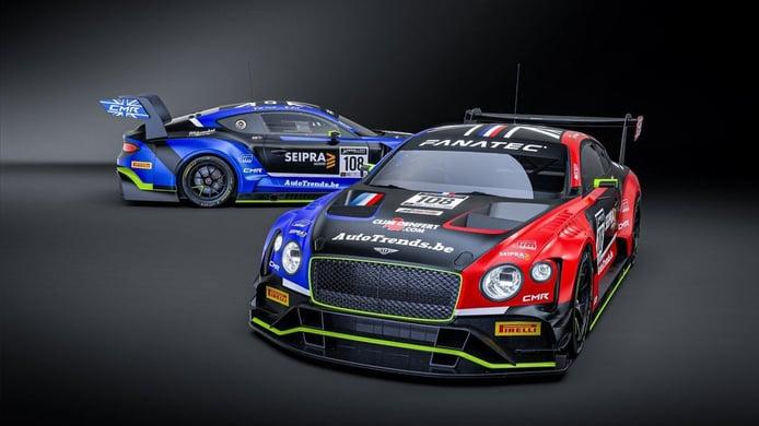 CMR nombra los pilotos de su proyecto con dos Bentley en la Sprint Cup