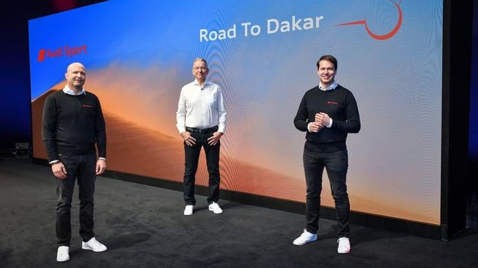 El concepto de 4x4 eléctrico de Audi para el Dakar está casi listo